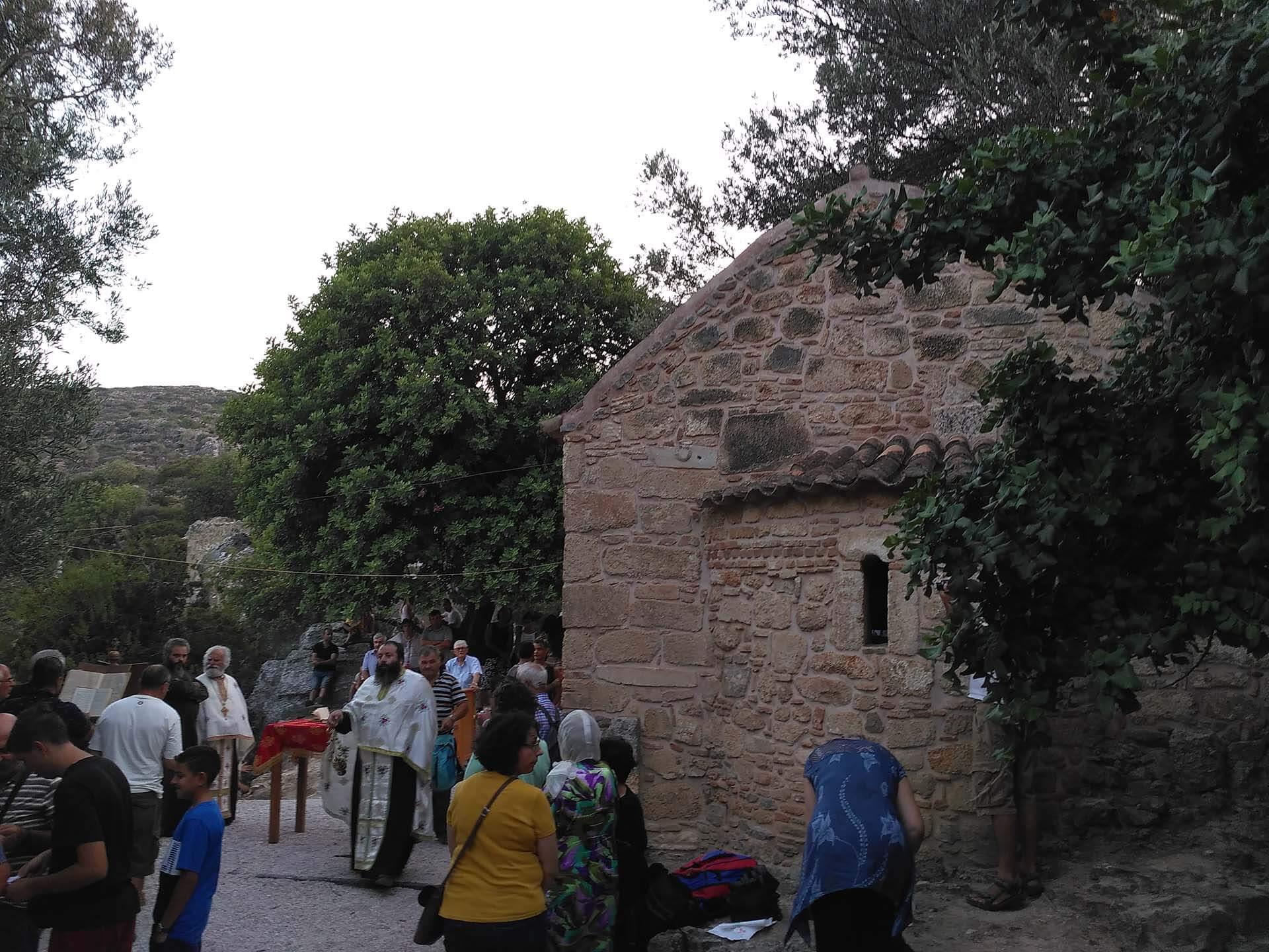 ancient lissos church