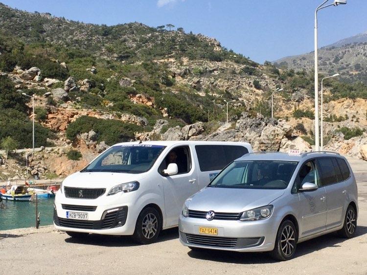 Sougia Taxi and minivan